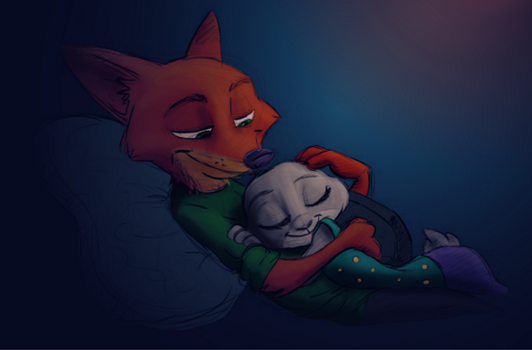 Nap Time Colored by Stormspike