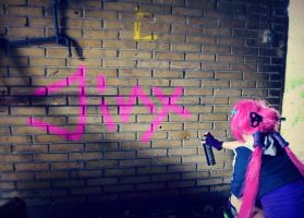Jinx was here by DreamWhispering