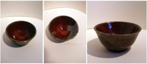 Red Flambe Bowl by scarlet1800