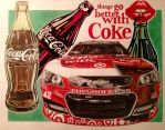 Kyle Larson 2015 Daytona Coca-Cola car by JonOwens