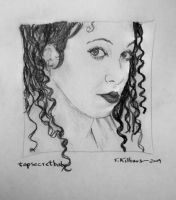 topsecretbaby in pencil by TomKilbane
