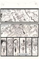 Pink Power 2 page 13 Lineart by HCMP
