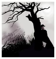 under the black tree by s-a-n-i