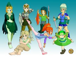Link's daughters - part 3 by -coldfusion-