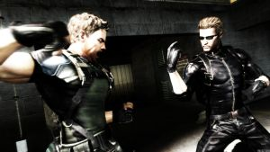 Suck on that Wesker by TheMadSoldier