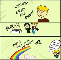 Hunger Games Grab My Meme by Kyo-Cool
