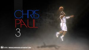 CP3 wallpaper by michaelherradura