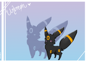 Gift art_ Umbreon by Lyozan