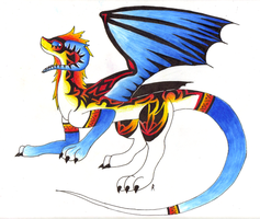 Dragon for Linkaton by Ultralee0