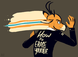 How To Erase Yourself by CaseyLaLonde