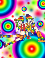 Elemental Twins-Rainbow by yuuyami-artist