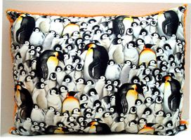 Penguin Pillow by Groovygirlsuzy17