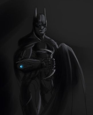 Twitter Prize - Batman by lerato