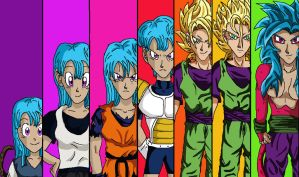 Many Olivias by AnotherDBZfan
