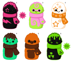 scarfblob batch 2- closed by to-much-a-thing