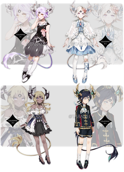Collestian Adopt Batch [AUCTION CLOSED] by Tab-adopts