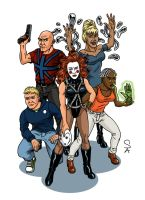 The Invisibles Volume 2 by xcub