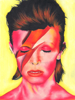 David Bowie by LaurenTirroArt