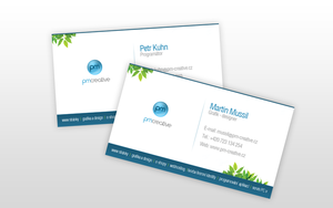 PM Creative, bussines card by okiz