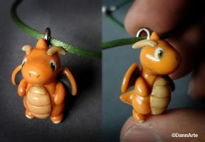 Dragonite Charm by DannArte