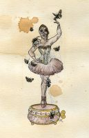 The Ballerina by Kitty-Grimm