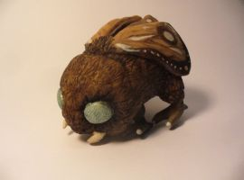 Sculpted Moth Creature by forlorn-faerie