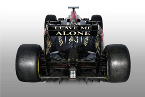 How new Lotus E21 rear wing should look like... by Ratmanxx