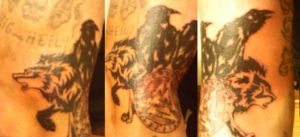Odinist's Tattoo by Whitewiccan