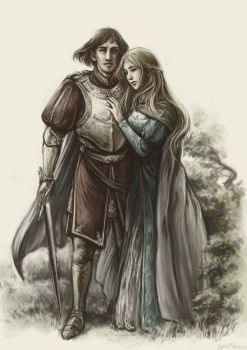 Tristan and Isolde by midoriharada