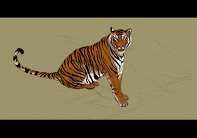 omg tiger by Lizzy23