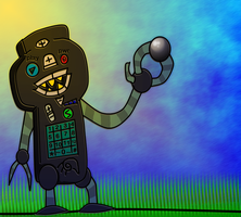daily doodle: remotbot by gunezzue