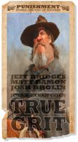 True Grit Poster by wooden-horse