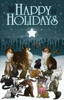 Vet Holiday Card 2011 by mscorley