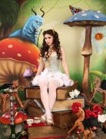 Pretty Little Alice In Wonderland 2 by ThePrincessNightmare