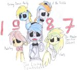 FNAF. Five nights at brony's. by Tozy-Shwick