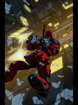 Deadpool night color by GrimmjowJaggerjack52