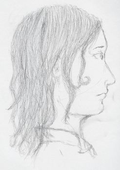 Left handed profile by Spiegel666