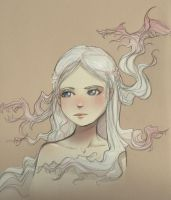 Mother of Dragons by Linouuu