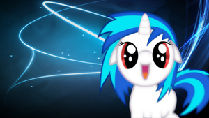 DJ-Pon3 Filly Wallpaper by olivebates
