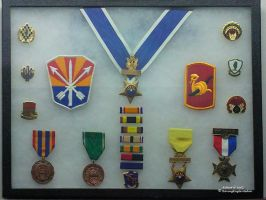 Military Medals Patches and Ribbons by RavingEagleMedia