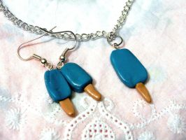 Blue Icecream Set by CreamberryAccesory
