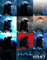Halo ODST Squares by MilesZero