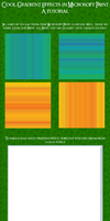 MsPaint Gradient Tutorial by kyra10987
