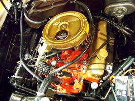 Mopar Golden Commando 395 by DetroitDemigod