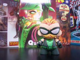 Green Arrow Munny by KidNotorious