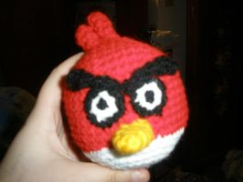 Crochet Angry Bird by nekokoneko92