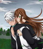 ArtTrade - Toshiro and Resu by MyangHime