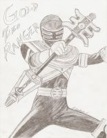 The Gold Zeo Ranger by mkscorpion202