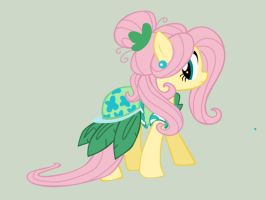 Fluttershy vector : Spring Dress by amyrose2001
