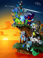 TFS Coloring Contest Entry by SDevilHeart